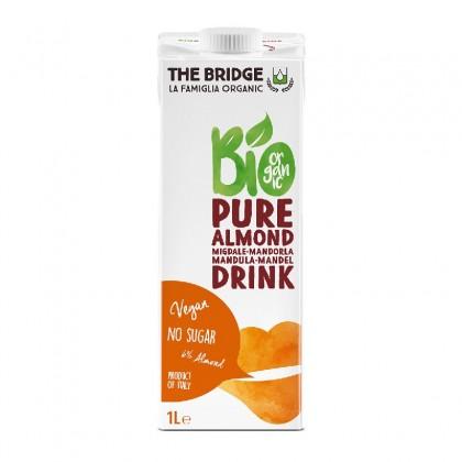 The Bridge BIO Bautura pura din migdale 6% 1l