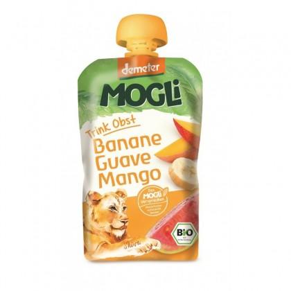 Mogli Pireu fructe - banana, mango, guava BIO 100g
