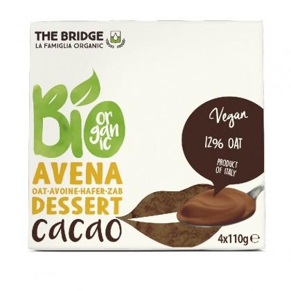The Bridge BIO Desert din ovaz ciocolata 4x110g