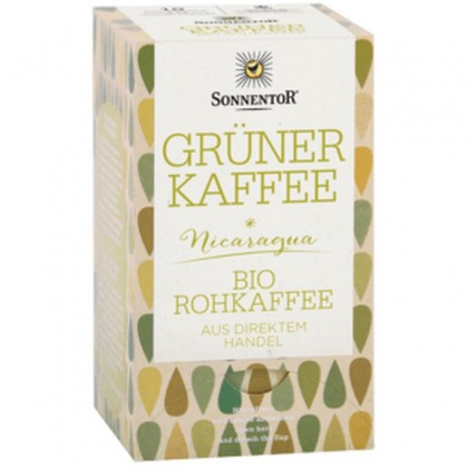 Sonnentor Cafea verde raw BIO 54g (18 plicuri)