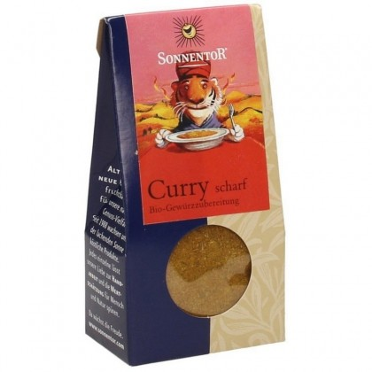 Sonnentor Curry iute BIO 35 g