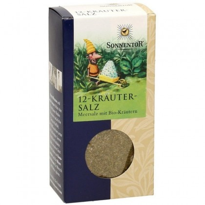 Sonnentor Condiment Sare cu 12 verdeturi BIO 120g