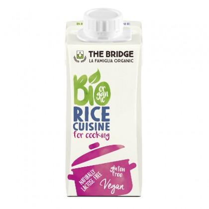 The Bridge BIO Crema vegetala pentru gatit din orez 200ml