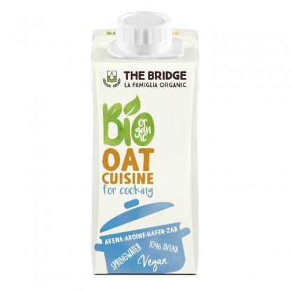 The Bridge BIO Crema vegetala pentru gatit din ovaz 200ml