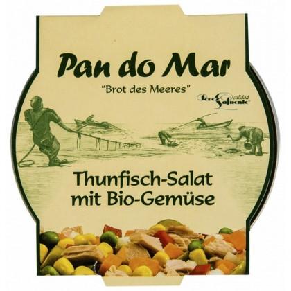 Pan do Mar Salata de ton cu legume bio 250gr