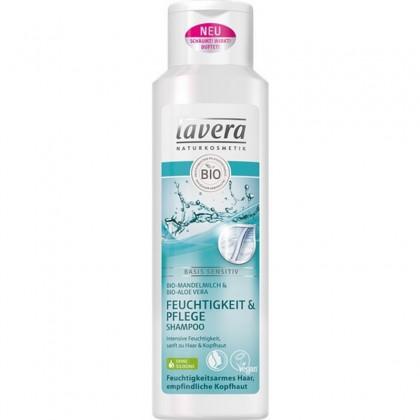 Lavera Sampon hidratant si nutritiv cu migdale si aloe vera  250ml