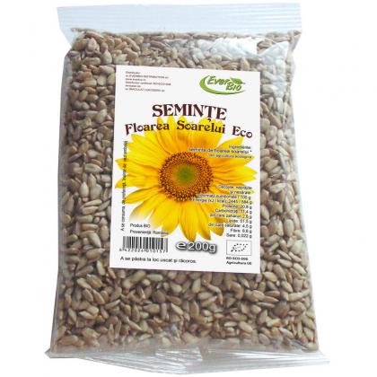 EVERBIO Seminte de floarea soarelui BIO 200g