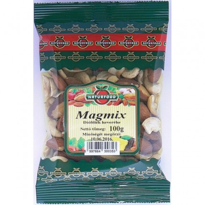 Naturfood Amestec de nuci diverse Magmix 100g
