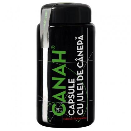 Canah Capsule cu ulei de canepa 84 cps