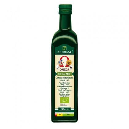 Crudigno bio ulei biobalance omega 3-6 0.25 l