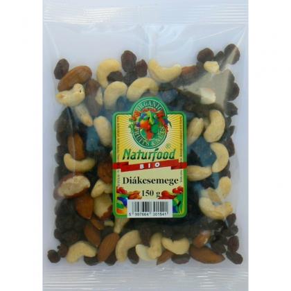 Naturfood Mix de alune, migdale si stafide  BIO 150g