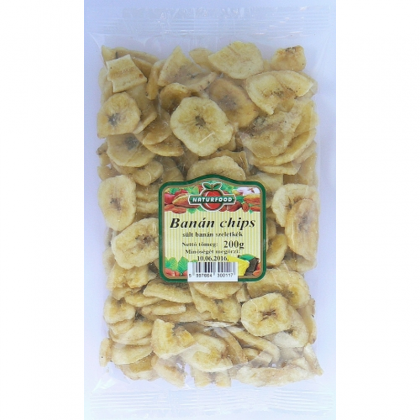 Naturfood Chips Banane Uscate 200g