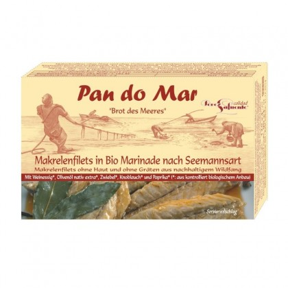 Pan do Mar Macrou file in sos marinat bio 120g