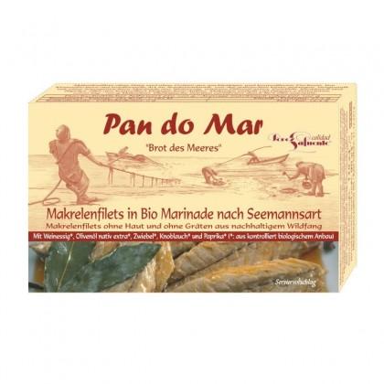 Pan do Mar Macrou file in sos marinat bio 120g
