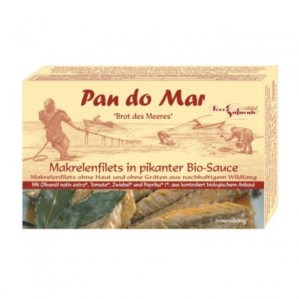 Pan do Mar Macrou file in sos picant bio 120g