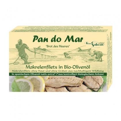 Pan do Mar Macrou file in ulei de masline bio 120g
