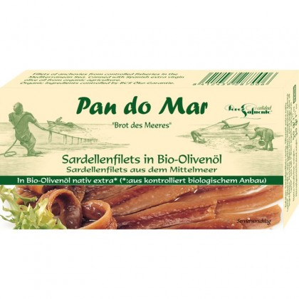 Pan do Mar Anchoa file in ulei de masline 50g
