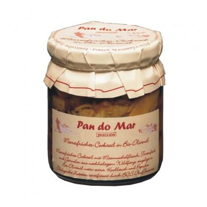 Pan do mar fructe de mare in ulei de masline 220g