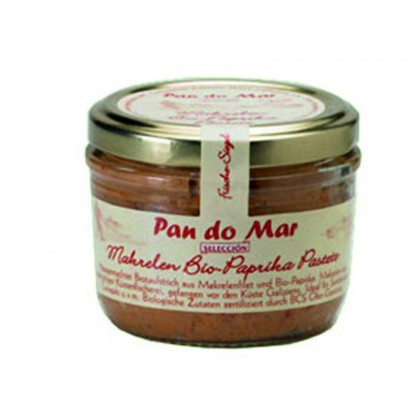Pan do Mar Pate de macrou cu ardei bio 125g