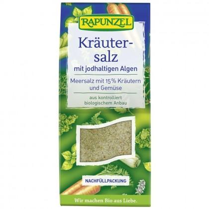 Rapunzel Sare iodata cu 15% plante, legume si alge BIO 500g