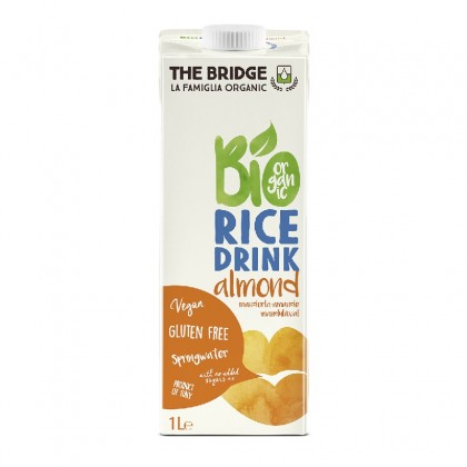 The bridge bio bautura orez cu migdale 1l
