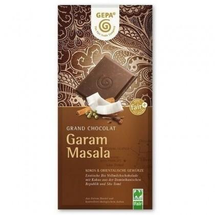 Gepa Bio Ciocolata cu Garam Masala 100g