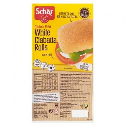 Schar Paine Ciabatta (chifle) fara gluten 200g