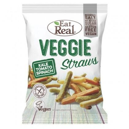 Eat Real Snaksuri cu varza kale, rosii si spanac 45g