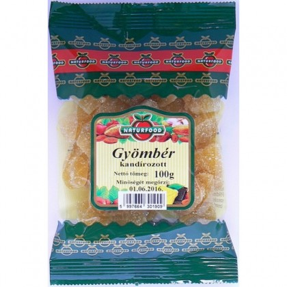 Naturfood Ghimbir confiat 100g