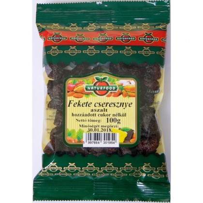 Naturfood Cirese negre uscate 100g