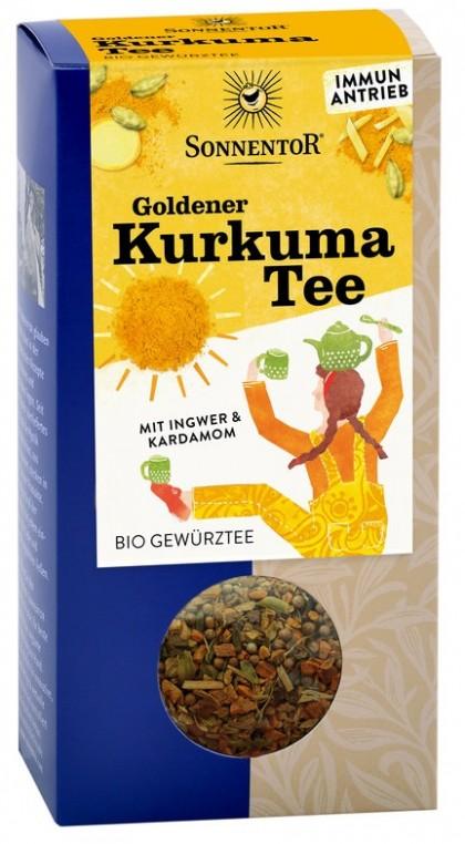 Sonnentor BIO Ceai Turmeric Auriu 120 g