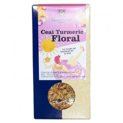Sonnentor BIO Ceai Turmeric Floral 100 g
