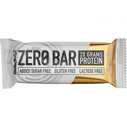 Biotech Zero Bar Baton proteic cu aroma de prajitura fara zahar 50g