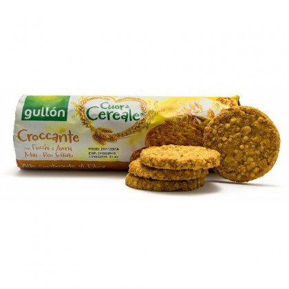 Gullon Biscuiti cereale cu orez expandat 265g