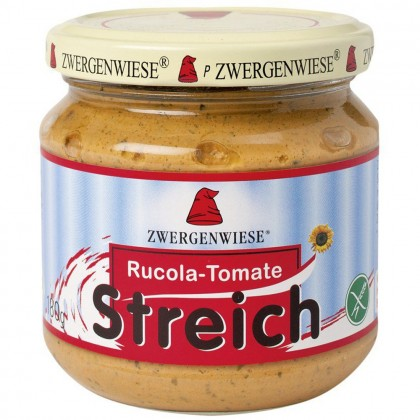 Zwergenwise BIO Pate de rucola cu tomate 180g