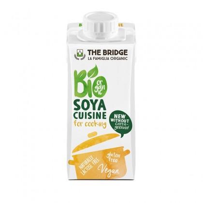 The Bridge BIO Crema vegetala pentru gatit din soia 200ml