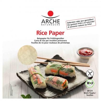 Arche BIO Foi de orez pentru rulouri de primavara 20 buc - 150g