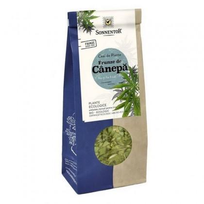 SONNENTOR BIO Ceai frunze de canepa 40g