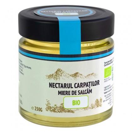 Nectarul Carpatilor Miere de salcam BIO 250g