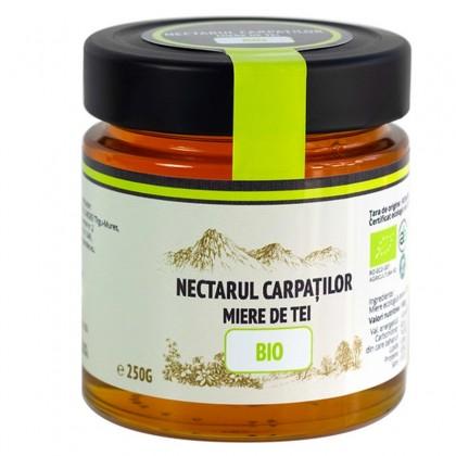 Nectarul Carpatilor Miere de tei BIO 250g