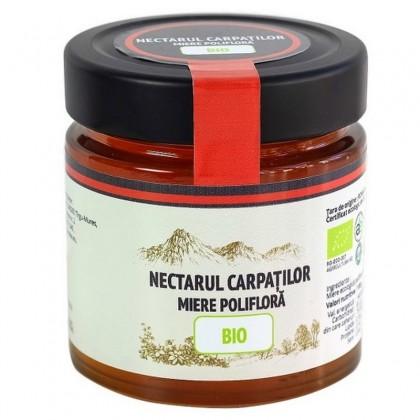 Nectarul Carpatilor Miere poliflora BIO 500g