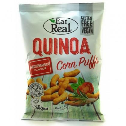 Eat Real Pufuleti de Quinoua cu gust mediteranean 40g