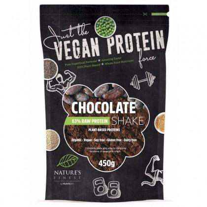 Nature's Finest ECO Shake Proteine 63% cu ciocolata 450g